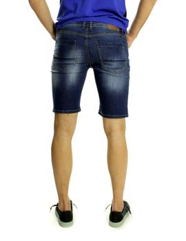Bermudas Vaqueras Fifty Four Torus Skinny Fit Azul
